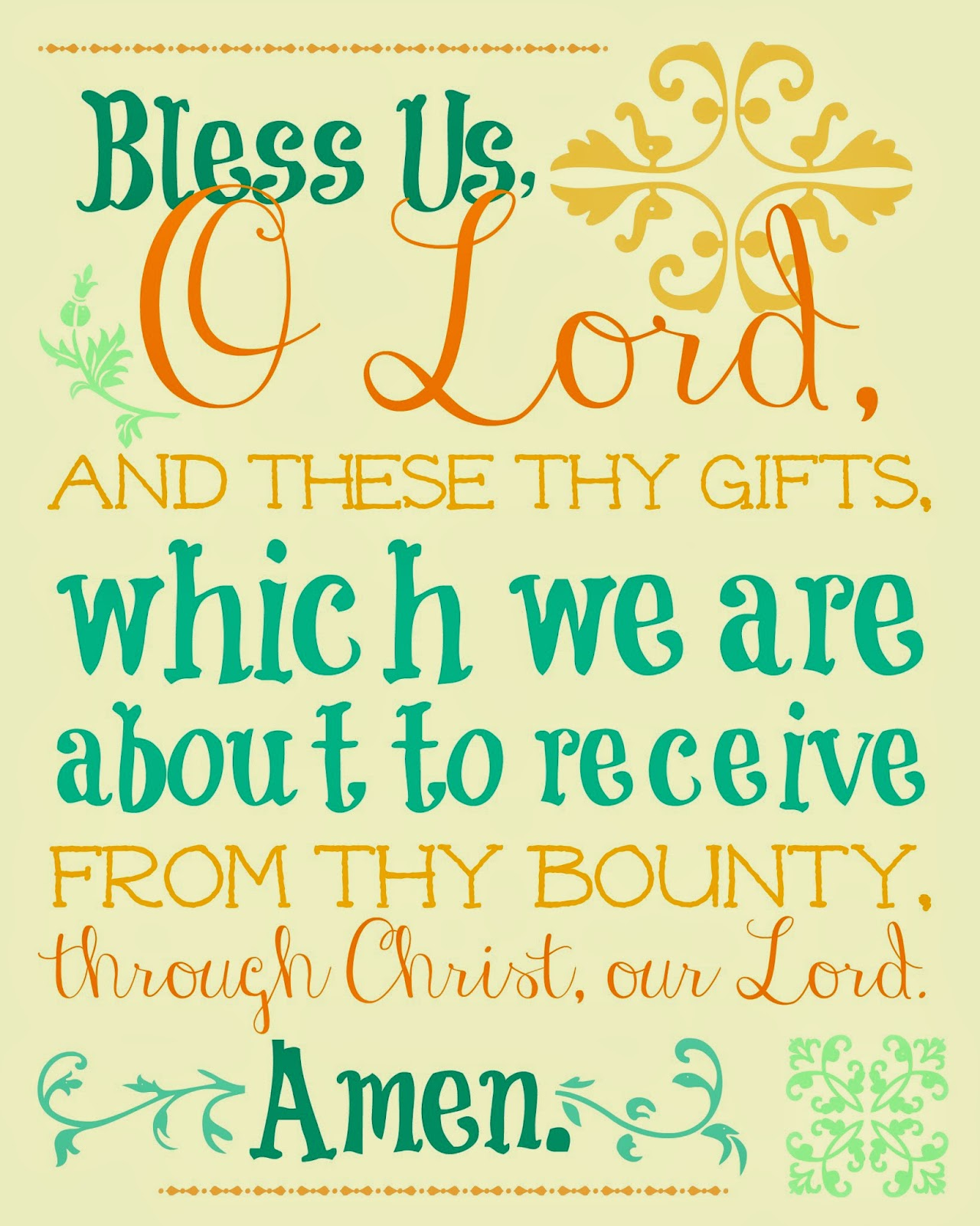Image result for catholic meal blessing graphic