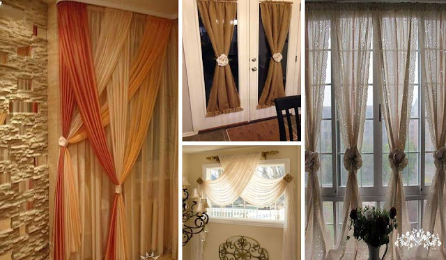 Curtain ideas to make your home look amazing