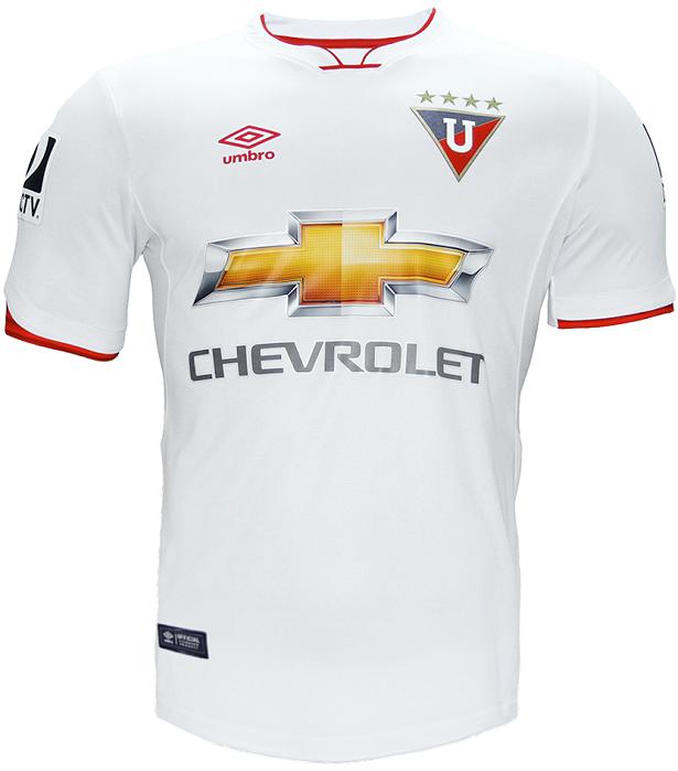 caecdcc6f3 Umbro apresenta as novas camisas da LDU de Quito - Show de Camisas