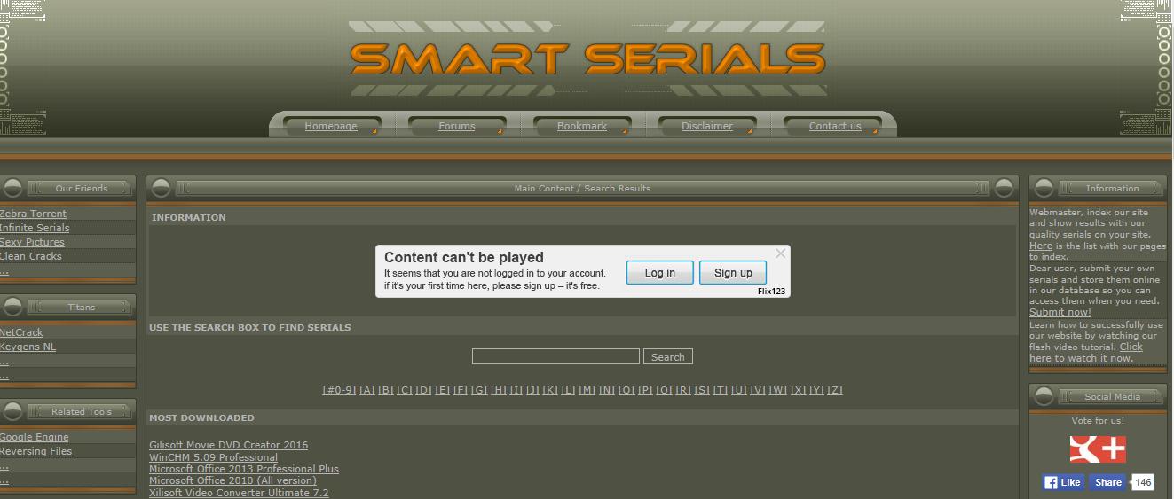 smart serials.net