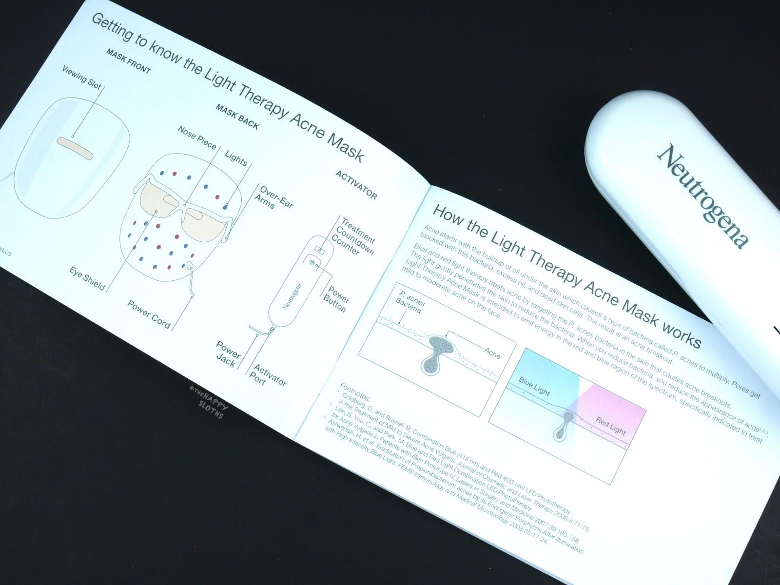 Neutrogena Light Therapy Acne Mask: Review