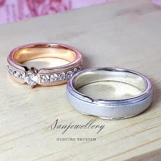 cincin kawin online paladium platina perak emas