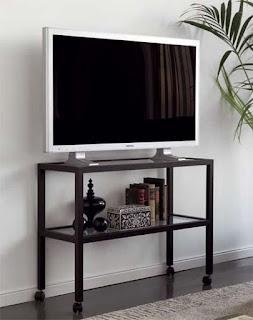 Mesa television ruedas forja Marsella