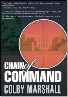 Guest Post from Colby Marshall, author of Chain of Command