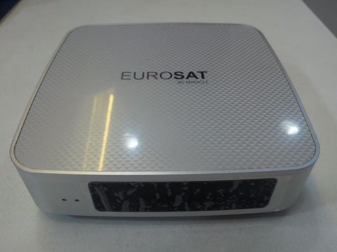 EUROSAT HD PRATA NOVA ATUALIZAÇÃO V1.82 - 23/01/2020
