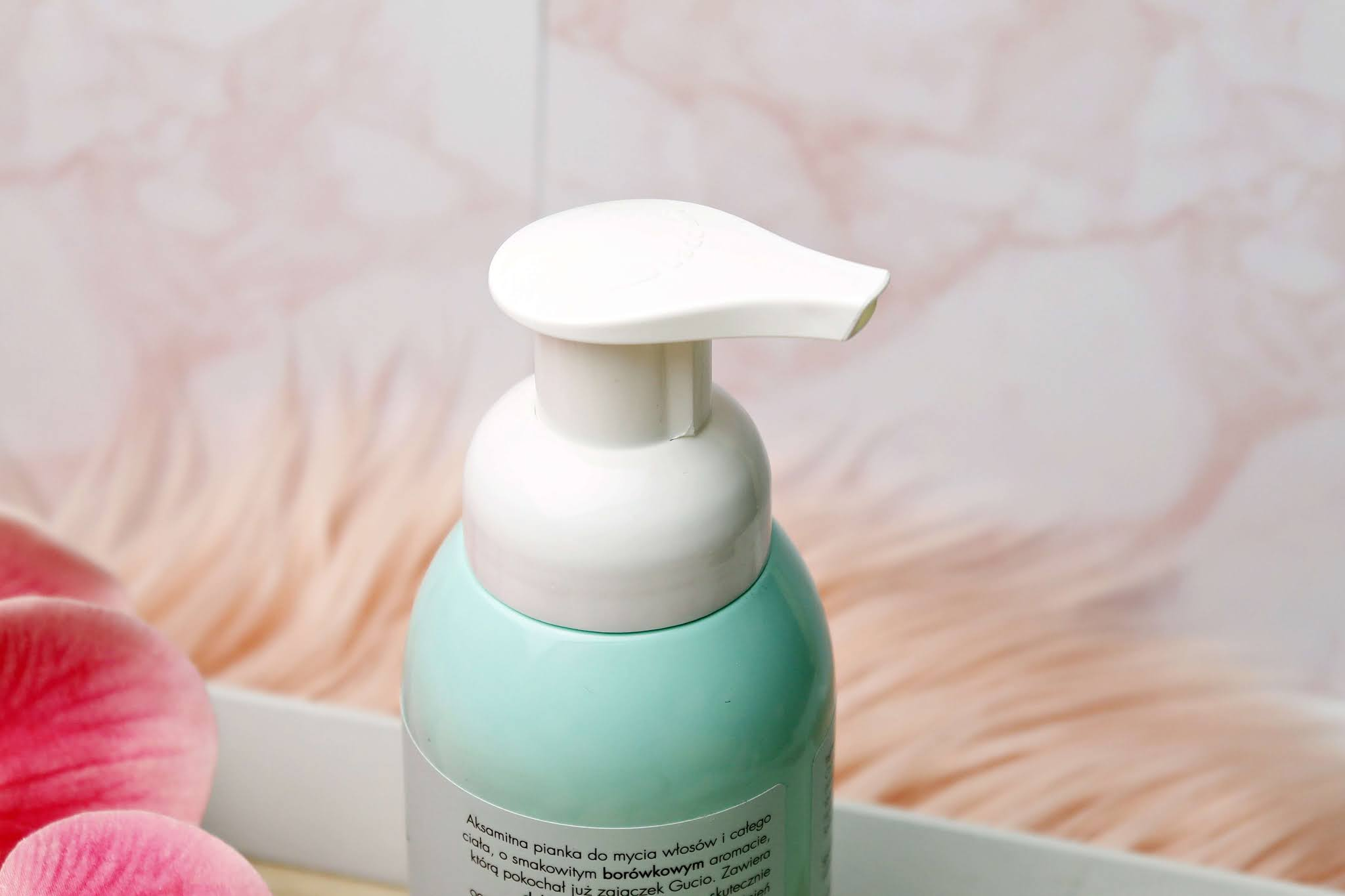 Kosmetyki dla dzieci Sylveco Pianka do mycia ciała i włosów dla dzieci