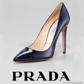 Crown Princess Mary wore Prada Pointed Patent Leather Pump