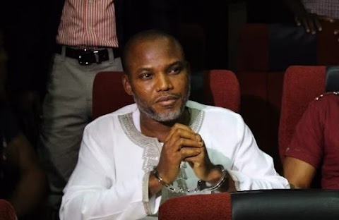 """I SHALL NOT BE TRIED SECRETLY WHILE MY ACCUSERS accused me publicly."" Nnamdi kanu laments"