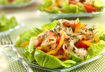 http://www.campbellskitchen.com/recipes/margarita-shrimp-salad-50994