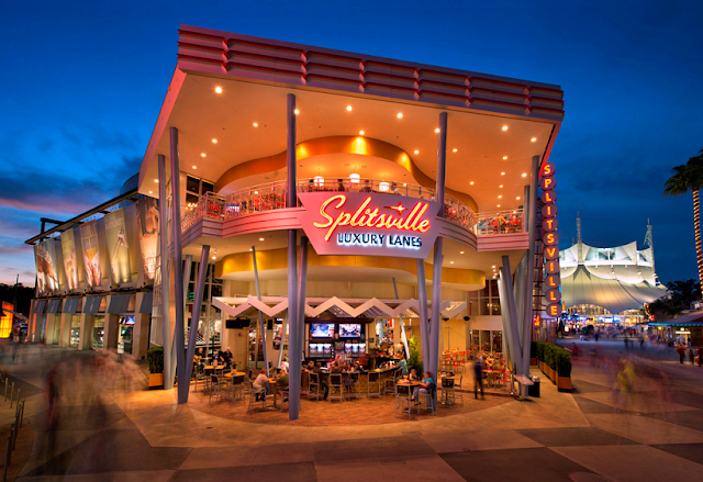 Splitsville Luxury Lanes na Disney