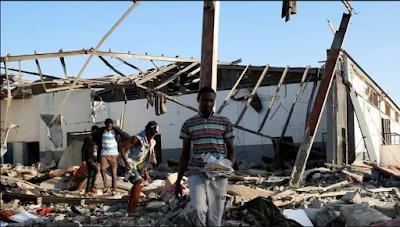 UN: SHAMBULIO LA WAHAMIAJI LIBYA LAWEZA KUWA NI UHALIFU WA KIVITA