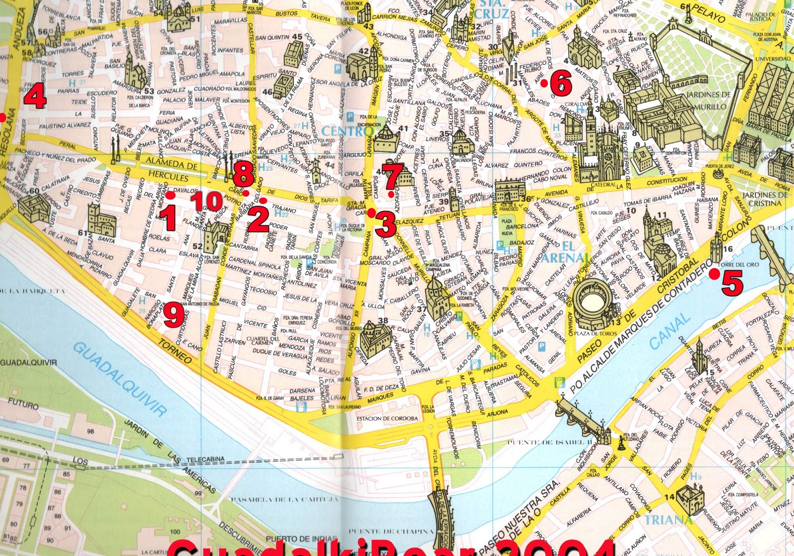 sevilha mapa Sevilha   Espanha | Viajar é meu destino . . . sevilha mapa