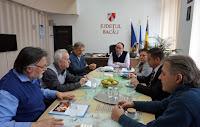 Întâlnire cu dl Sorin Braşoveanu, preşedintele C. J. Bacău