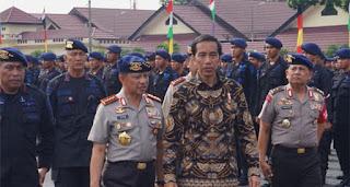 jokowi tegaskan negara tidak takut terhadap teroris apalagi narapidana