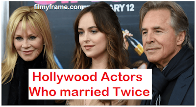 Hollywood Stars Married Twice and Thrice