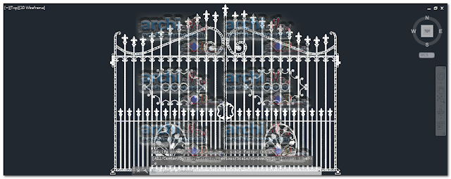 Download-AutoCAD-ironforge-gate-dwg-cad