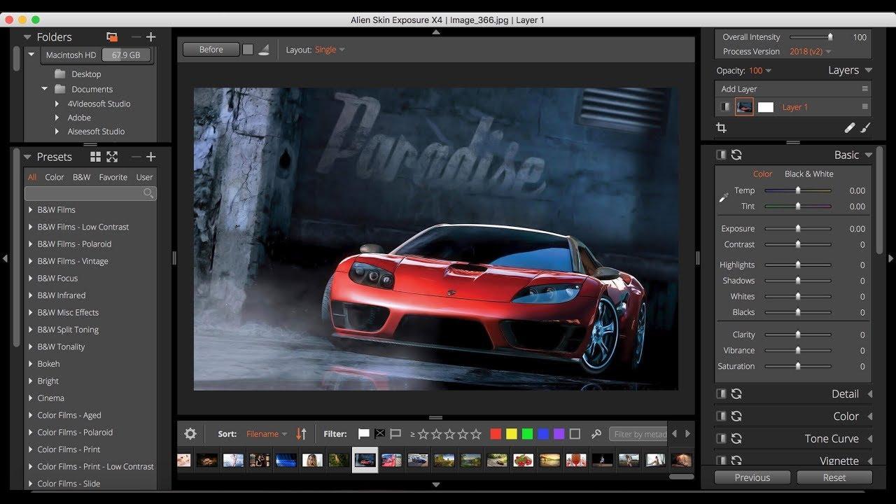 تحميل برنامج  مدير صور متطور ومحررر(Alien Skin Exposure X5 Bundle 5.1.0.139 (RAW