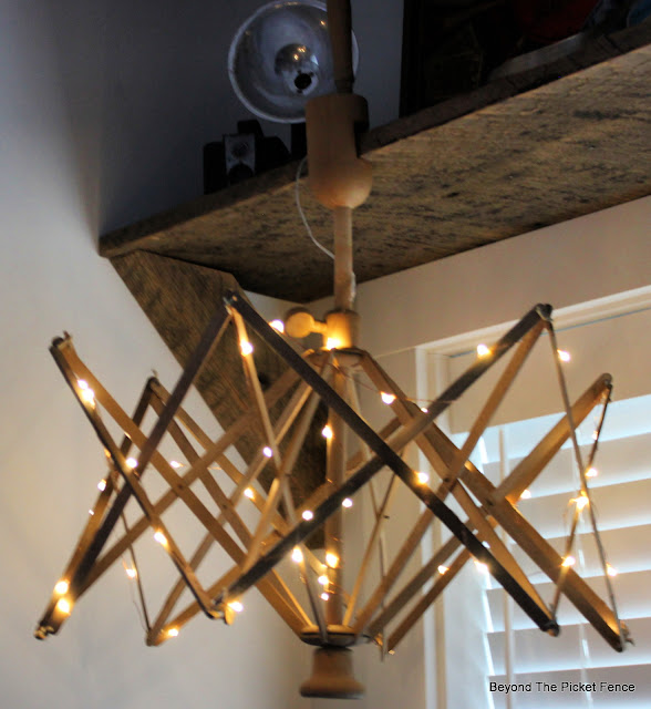 Make a Cozy Light With Thrift Store Find and Fairy Lights