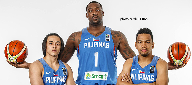 Gilas Pilipinas' 23-man pool for the FIBA Basketball World Cup 2019 Asian Qualifiers (November 2017)