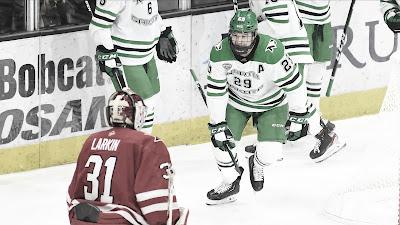 HOCKEY HIELO - Los mejores jugadores universitarios como agentes libres para la NHL