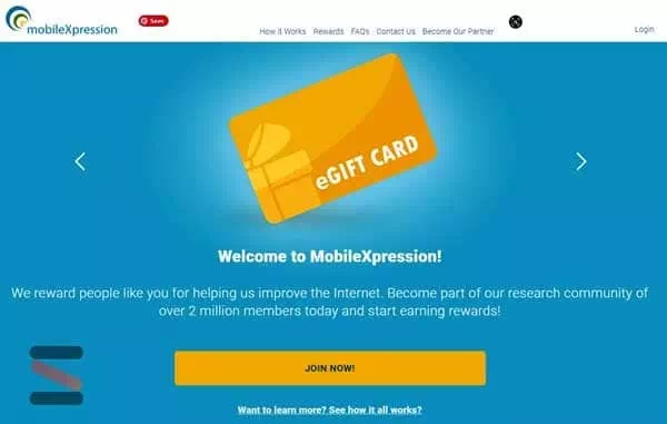 الربح من الاستطلاعات من الهاتف الذكي MobileXpression