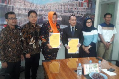 SIGNING PERJANJIAN KERJASAMA PEMBANGUNAN UNIT RUKO SUDIRMAN AUTOMOTIVE CENTER (SAC) DI JAKARTA, 24 OKTOBER 2019