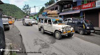 29th Mile Bazar at Teesta NH 10A