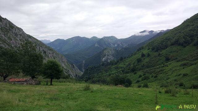 Majadas en la parte superior del Valle de Pandiellina