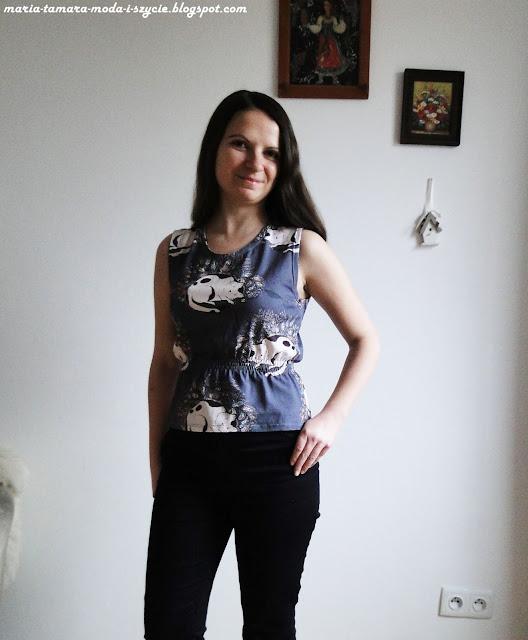 Kocia bluzka