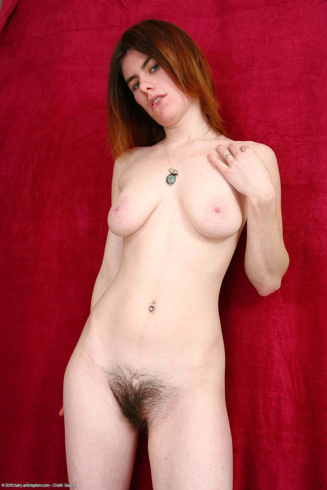 Sexy girl naked striping