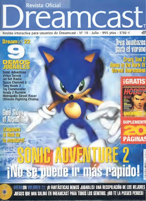 Revista Oficial Dreamcast Issue N°19