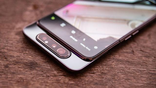سعر ومواصفات هاتف Galaxy A80 الجديد مع كاميرا منبثقة قابلة للدوران !
