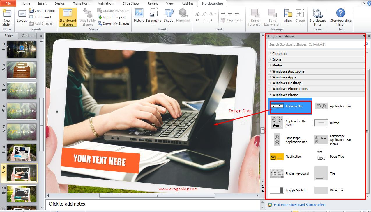 Cara Mengaktifkan Addins Storyboard Pada PowerPoint