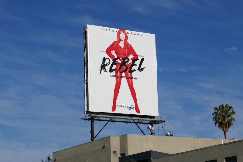 Katey Sagal Rebel billboard