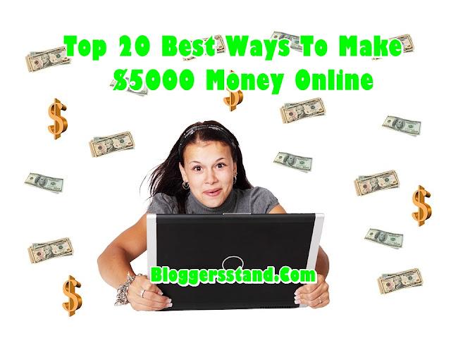 Top 20 Best Ways To Make Money Online