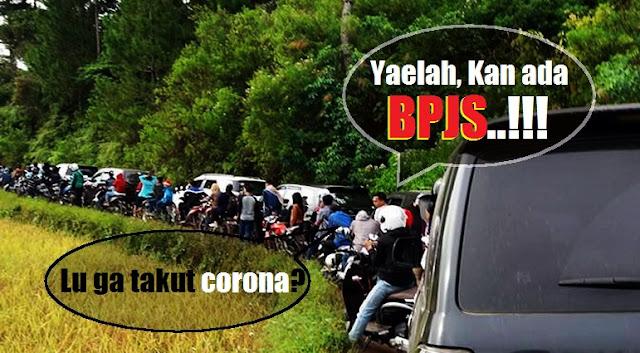 Lucunya Warga Indonesia: Disuruh Liburan di Rumah, Malah Ramai-ramai ke Tempat Wisata