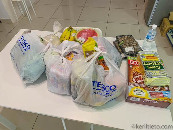 #keriitletoreview: Tesco Order & Collect service