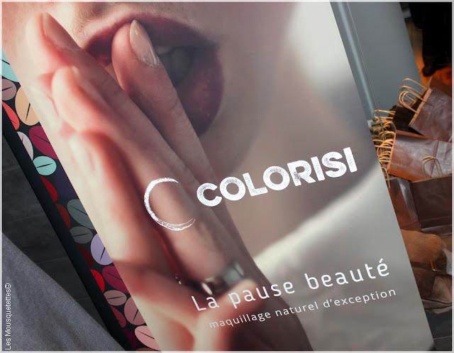Journée presse beauté bio et bien-être naturel Mybeautifulrp - Colorisi - Blog beauté Les Mousquetettes©
