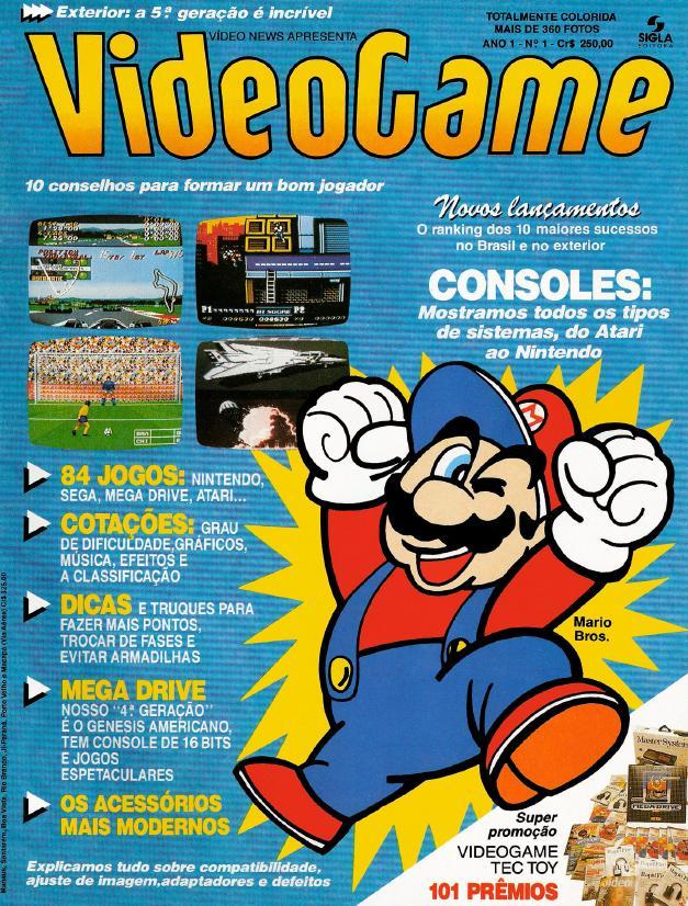 Revista Videogame dos Anos 90 - Download em PDF