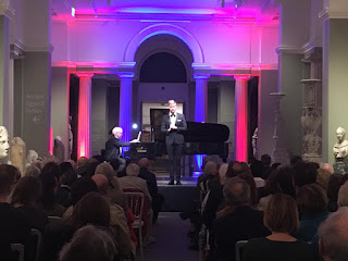 A Night at the Museum - Benjamin Appl, Graham Johnson (Photo Oxford Lieder Festival)
