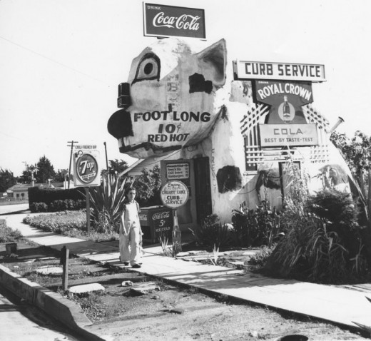 Black Amp White Photos Of Los Angeles In The 1940s Vintage