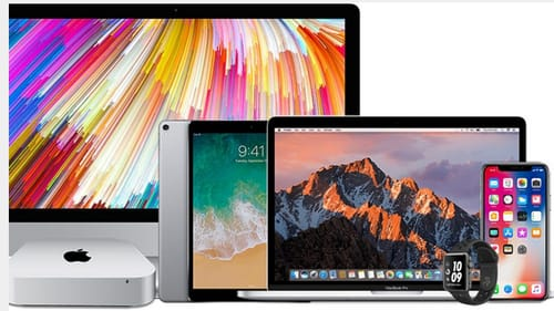 Why has Apple changed the way the serial number is displayed on its products?