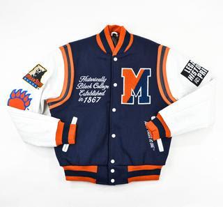 "Morgan State University ""Motto 2.0"" varsity jacket"