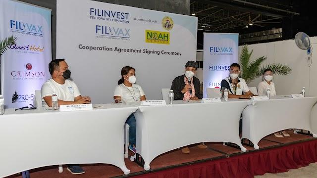 Filinvest Group donates vaccine doses to Cebu City