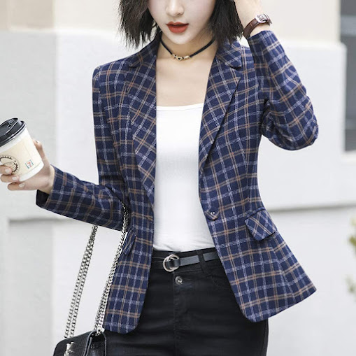 Korean Fitted Blazers Jackets for Women