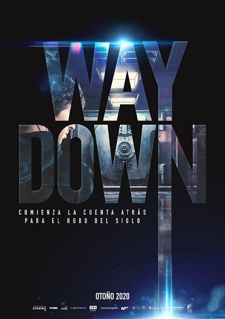 Cartel de 'Way Down', un thriller de Jaume Balagueró