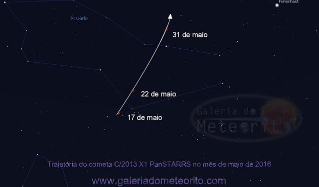 Cometa X1 Panstarrs - maio de 2016