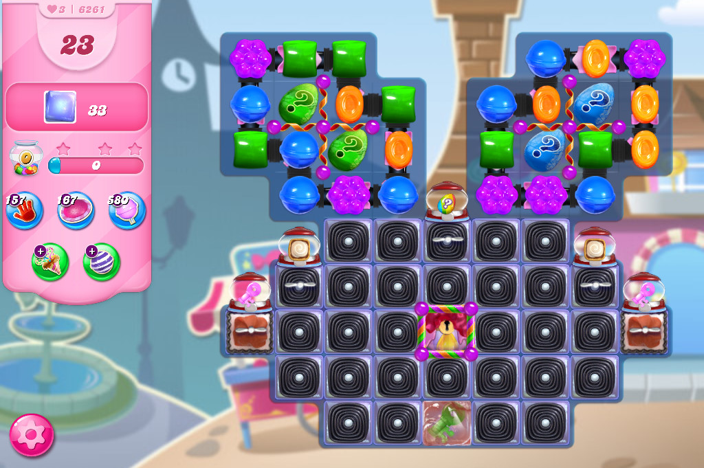 Candy Crush Saga level 6261