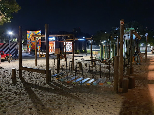 Cais Embarcadero em Porto Alegre