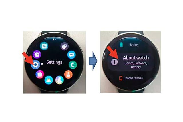 صور مسربة لساعة Samsung Galaxy Watch Active 2